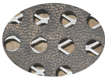 KRAIBURG CaBoMat hole mat made of rubber on metal grid in calf pen - zoom