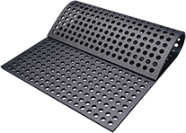 KRAIBURG CaBoMat hole mat made of rubber for calf pens