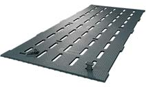 KRAIBURG KURA S slatted floor covering made of rubber for calf fattening