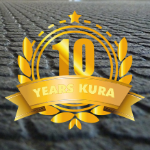 The KURA walking area covering is celebrating its 10th anniversary