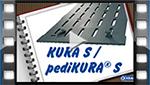 installation video for KRAIBURG KURA S slatted floor covering made of rubber in cattle houses