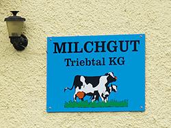 Milchgut Triebtal farm, Trieb, Germany