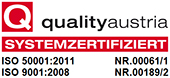 ISO certification of KRAIBURG quality management