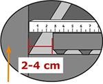 when installing KRAIBURG milkin parlour floorings leave 2-4 cm distance to side edge