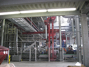"KRAIBURG production unit for cattle house mats ""Press 16"""