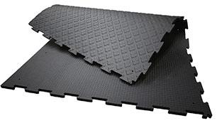 KRAIBURG KARERA Laufgangmatte aus Gummi für Basis-Komfort