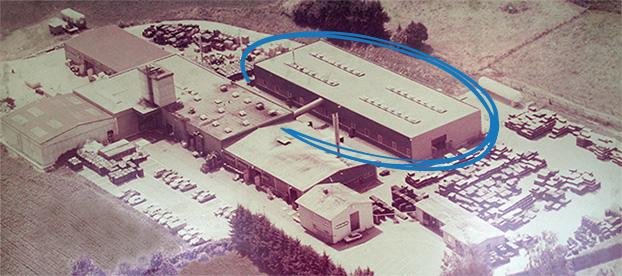 KRAIBURG Elastik premises in Tittmoning, approx. 1982