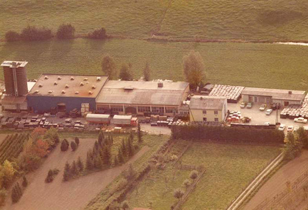 KRAIBURG premises in Tittmoning, 1972