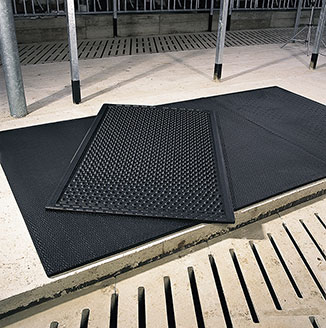 KRAIBURG KSL - first thick, very soft lying mat for cows without foam in 2000
